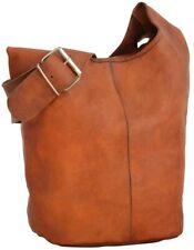 Beuteltasche Leder Umhängetasche Shopper Ledertasche Vintage Braun