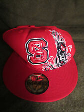 new concept d9d2e a340c NC State Wolfpack NCAA New Era 59FIFTY Fitted Hat New 7 1 8