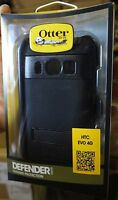 *NEW* HTC EVO 4G OtterBox Defender Series Shield with Holster Clip (Black)