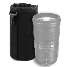 Large Black Neoprene Lens Pouch for Nikon AF-S NIKKOR 300mm f/4E PF ED VR Lens