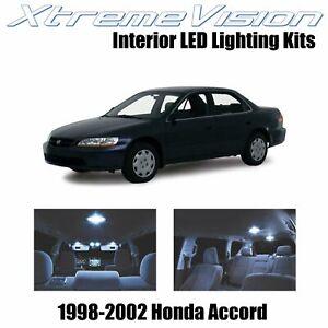 XtremeVision Interior LED for Honda Accord 1998-2002 (12 PCS) Cool White