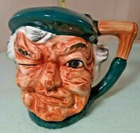 "4.5"" Toby Royal Doulton Character Mug winking at you."