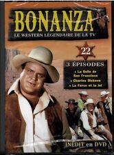 COLLECTION BONANZA DVD N°22 ... SERIE WESTERN .. 3 EPISODES