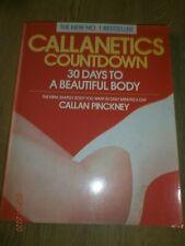 Callanetics  Countdown By Callan Pinckney 30 Days To A Beautiful Body PB 1990