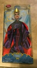 Disney Store Evil Queen Snow White Villain Doll NEW in retail blue box 12""