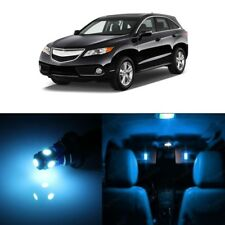 13 x Ice Blue LED Interior Lights Package For Acura RDX 2013 - 2018 + Pry TOOL
