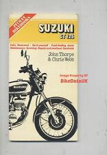 Suzuki GT125 (1974-1977) Pitman Work Shop Manual Repair Book GT 125 Ram-Air BS11