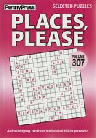 PennyPress 2017 Places, Please Selected Puzzles Volume 307