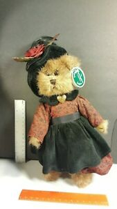 Bearington Collection Babette Bear Ltd Series Mint All Tags 1522 10""
