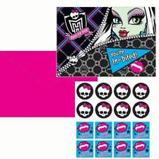 MONSTER HIGH PARTY You're In-Bited Invitations Invites with Envelopes Pack of 8