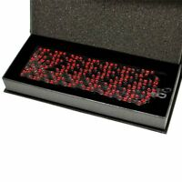 KMC X10SL DLC Chain,116 link with Missing Link , Black x Red