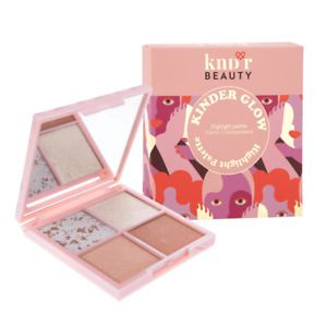 New! KNDR Beauty Kinder Glow Highlighter Palette - Full Size - 4 Shades - 0.36oz