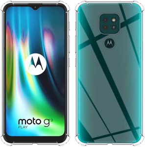 Armour Case For Motorola Moto G9 Play Shockproof Clear Slim Cover