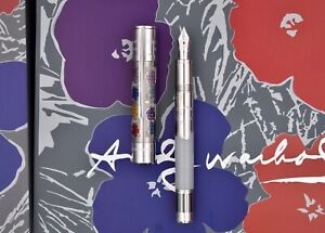MONTBLANC 2015 Andy Warhol Great Characters Limited Edition FP LE 50/1928 M