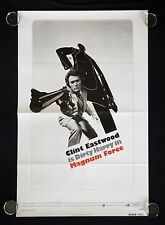 MAGNUM FORCE ORIGINAL U.S. ONE SHEET MOVIE POSTER (CLINT EASTWOOD/DIRTY HARRY)