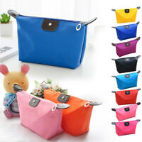 Women Make Up Bag Pencil Case Cosmetic Travel Toiletry Waterproof Pouch Gift New
