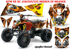 AMR Racing DECORO GRAPHIC KIT ATV KTM 450 505 525 SX XC Motorhead B