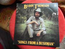 très rare BUDDY THOMSON SONGS FROM A BUSHMAN outback records