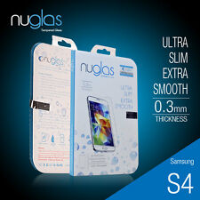 Genuine Nuglas Tempered Glass Screen Protector for Samsung Galaxy S4 I9500
