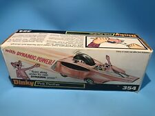 Dinky Toys Vintage 354 Pantera Rosa Hot Rod coche Original Caja Externa Muy Raro