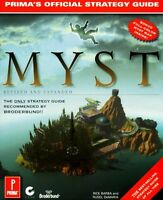 Myst: Revised and Expanded Edition: The Official Strategy Guide (Primas Secrets