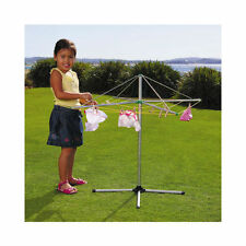 NEW Orbit Pegs N Play Childrens Galvanised Metal Rotary Clothes Line Incl.Pegs