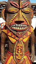 PELE TIKI ROOM TORCH STATUE BAR FIGURE FIGURINE HAWAII ART HAWAIIANA GOD FIRE X