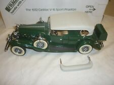 A Danbury mint scale model of a 1932 Cadillac V-16 Sport Phaeton.  boxed
