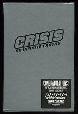 Crisis on Infinite Earths Hardcover Rare HC Slipcover DC Supergirl poster Sealed