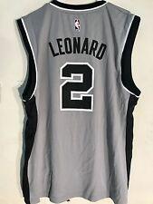 Adidas NBA Jersey San Antonio Spurs Kawhi Leonard Grey sz 4X