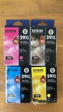 Epson 29XL Black and 29XL Cyan Magenta Yellow Colour Ink Cartridges