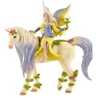 Schleich Fairy Sera with Blossom Unicorn -  0346