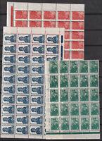 Russia 1938-1939 242 stamps, Mi 676IA,677IA,679IA,682IA,683IA,684IA MNH OG