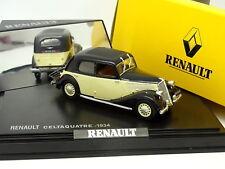Norev 1/43 - Renault Celtaquatre 1934 Noire et Blanche