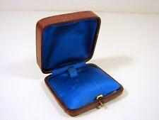 Ancienne Boîte à Bijoux Galuchat Signée A.S.L. D - 2,8 x 6,8 x 7,2 cm