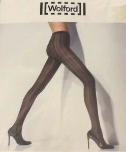 WOLFORD Shady TIGHTS NYLONS COLOR: Navy Blue  SIZE: Extra-Small 18802 - 14