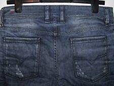 DIESEL Sleenker slim-Jeans Skinny Fit Lavaggio 0824Z W29 L32 (a3109)