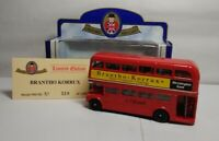 OXFORD DIECAST LIMITED EDITION ROUTEMASTER BUS - BRANTHO KORRUX - NO.510 OF 1000