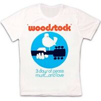 Woodstock Peace Music Love Festival Retro Vintage Hipster Unisex T Shirt 2221