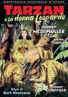 Tarzan E La Donna Leopardo DVD A&R PRODUCTIONS *NUOVO*