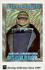Australia Dynamic Super Mario Bros Trading Cards Prism Card P2 Toad The Goomba