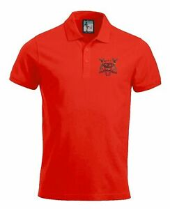 Nottingham Forest 1960-1970s Retro Football Polo Embroidered Crest S-XXXL