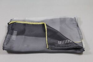 """Men's silk scarf 52""""x11 1/4"""" made in Italy"""