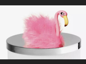 Pink Flamingo NEW Magnetic Candle Topper Bath & Body Works SHIPS FREE!