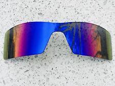 Nuevo Reemplazo de espejo azul hielo Oakley plataforma petrolera Lente + Gratis Bolsa De Transporte