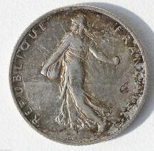 PIÈCE DE 2 FRANCS - FRANCE - EN ARGENT - MARIANNE TYPE SEMEUSE - 1917 -  10 g