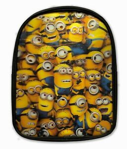 """Official Minions """"The Whole Gang"""" Hologram Rucksack Backpack Bag"""