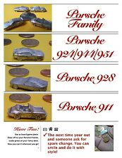 PORSCHE 924 944 944S 951 MINI METAL MODEL TOY GAME PIECE CHARM COOLNESS