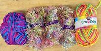 Lot 310g-Fancy Lash-Aran-Knitting-Crochet-Yarn-Spinning-Scrapbooking-Crafts-BX13