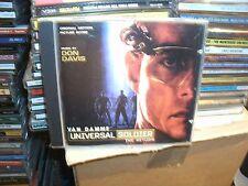UNIVERSAL SOLDIER,THE RETURN,ORIGINAL MOTION PICTURE SCORE,DON DAVIS,RARE CD